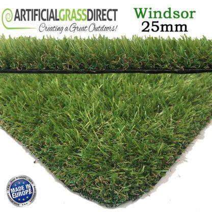 Artificial Grass 25mm Windsor Range