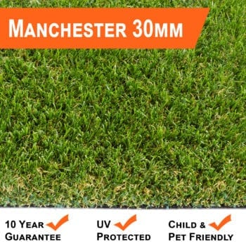 Dense Artificial Grass 30mm Manchester