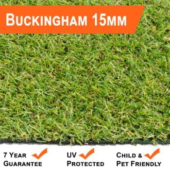 Artificial Grass 15mm Buckingham Range