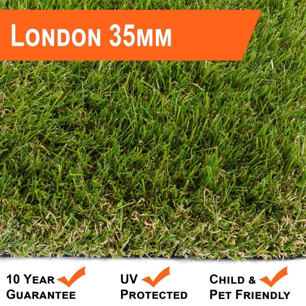 Artificial Grass 35mm London Range