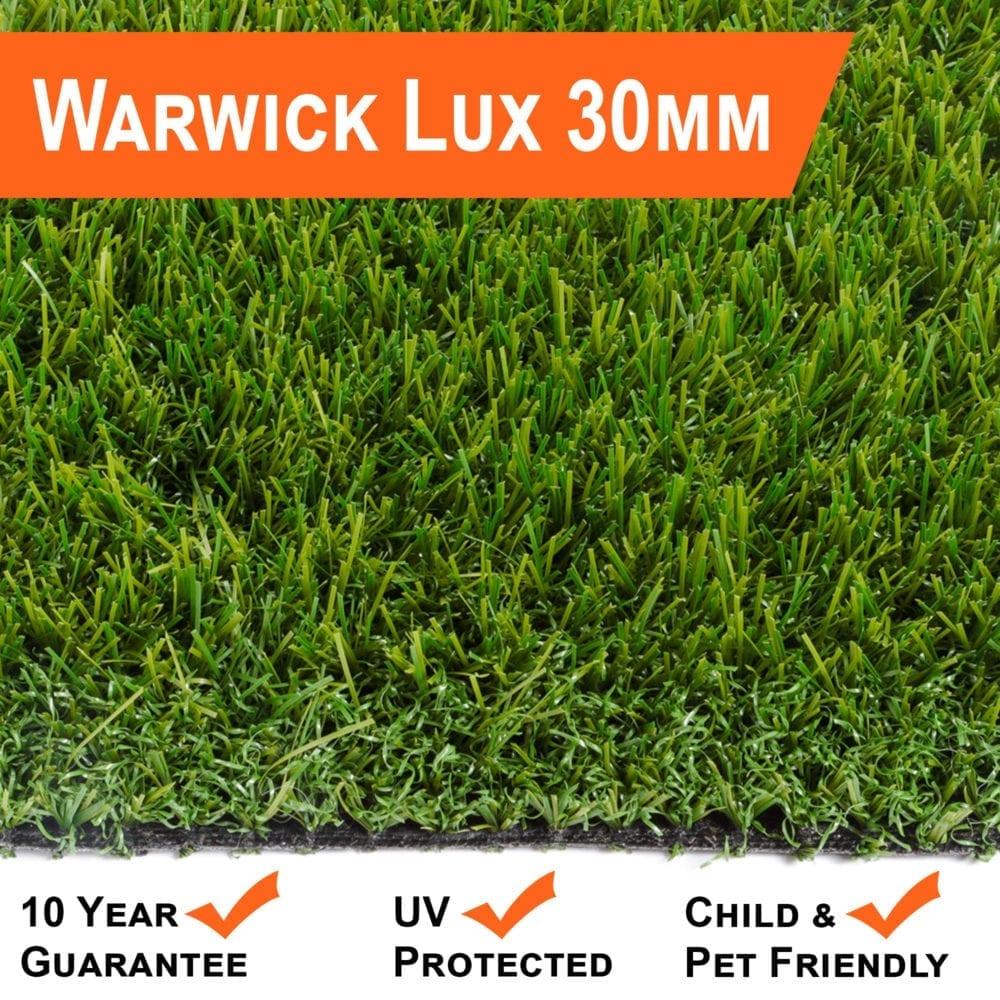 Artificial Grass 30mm Warwick Luxury Range