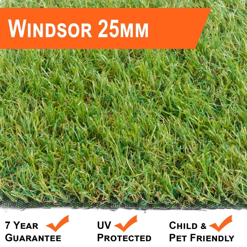 Artificial Grass 25mm Windsor Range